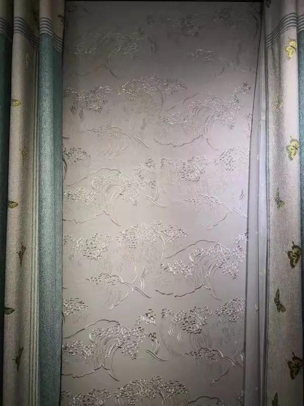 布鲁斯特墙纸北京杜家坎集美专卖店店内展示
