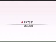 圣象地板PK7311清风与鹿产品介绍